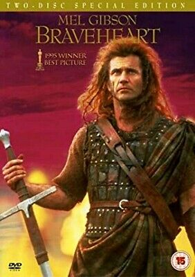 BRAVEHEART (DVD-2004,TWO-DISC SPECIAL EDITION) Mel Gibson. DIGITALLY REMASTERED
