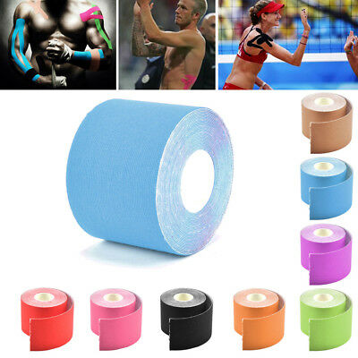 5M Kinesiology Elastic Tape Sport Physio Muscle Strain PRO Injury Pain Support