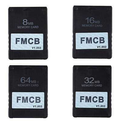 1X(FMCB Free McBoot Card V1.953 for Sony PS2 Playstation2 Memory Card OPL M3A9)