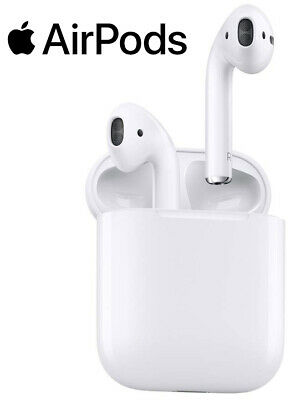 Apple AirPods with Charging Case White MMEF2AM/A - Factory Sealed