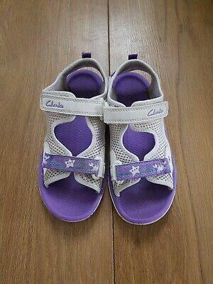 Clarks Girls Summer Sandals Size Uk 11