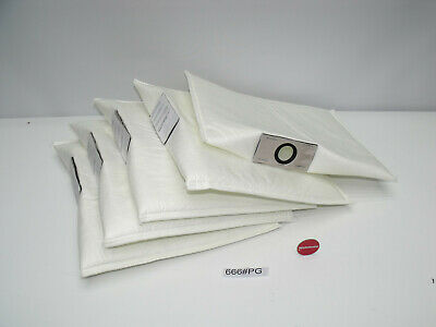 """5 Piece Filter Bags for Kavo under Table Extraction """" Made in Germany """""""