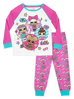 L.O.L Surprise! Girls Dolls Pyjamas Multicoloured Age 6 to 7 Years