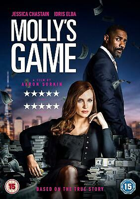 Molly's Game [DVD] [2017]- Region 2