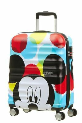 Trolley American Tourister wavebreaker disney spinner S 31C*001 mickey close-up