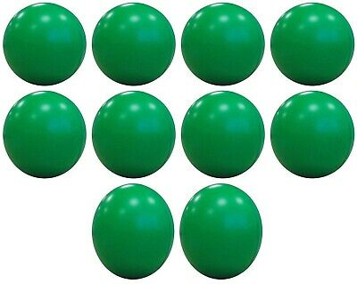 10 x GREEN ANTI STRESS RELIEVER BALL STRESSBALL RELIEF ARTHRITIS PHYSIO HAND AID