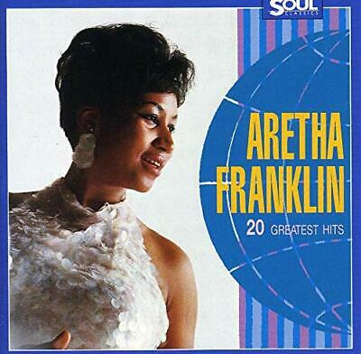 20 Greatest Hits [Audio CD] Aretha Franklin
