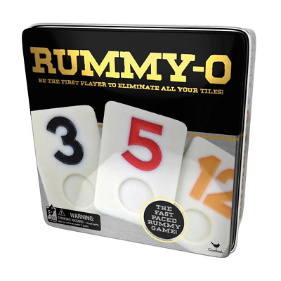 Rummy-O Classic Game Tin NEW