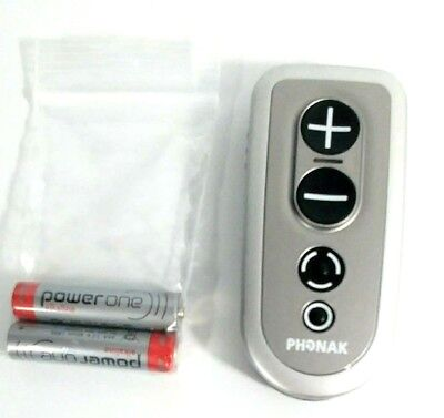 PHONAK™ PILOTone2 PILOT ONE2 REMOTE CONTROL with the battery door