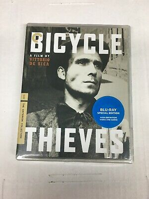 Bicycle Thieves Blu-Ray Criterion Collection #374 Brand-New Sealed Free Shippng