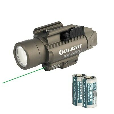 Olight Baldr Pro Green Laser and LED Light Combo 1350 LumenFlashlight Desert Tan