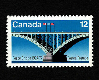 OPC 1977 Canada Peace Bridge Sc#737 MNH 38237