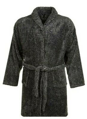 Espionage Mens Big Size Luxurious Long Pile Dressing Gown (118)