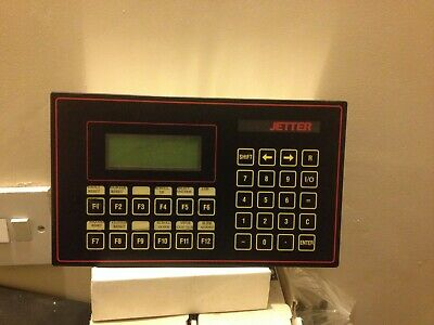 jetter controller, process plc display revision a lcd110