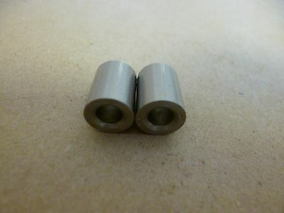 """3/16"""" ID x 3/8"""" OD x 1/2"""" TALL STAINLESS STEEL STANDOFF BUSHING SPACERS 2pc."""