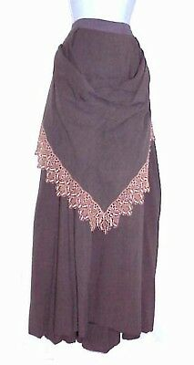 Western Frontier Civil War 1870'S Lovely Period Skirt Western Costume Company