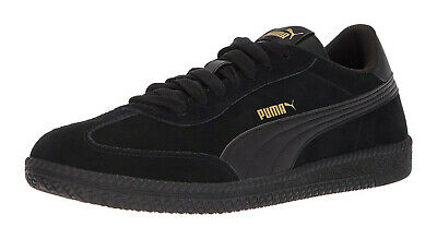 PUMA 36442305 MENS Astro Cup Sneaker Black and Gold Size
