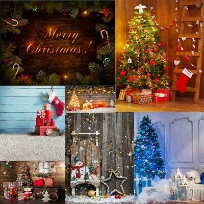 NEW Luxurious Christmas Photo Photography Props Background Studio Backdrops HYE