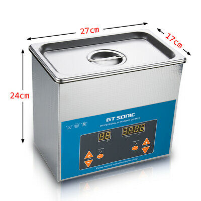 Professional 600ml Ultrasonic Cleaner with Digital Timer for Jewelry Eyeglasses