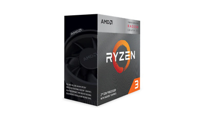 AMD Ryzen 3 3200G, 4-Core/4 Threads, Max Freq 4.0GHz, 6MB Cache, Radeon RX Vega