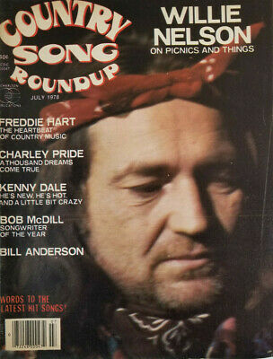 Country Song Roundup Magazine July 1978 - Willie Nelson - No Label - VG