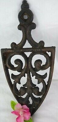 Antique Cast Iron Footed Trivet Sad Iron Holder