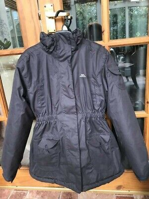 Girls' Trespass Winter Coat, Age 11-12, Waterproof, Very Good Condition