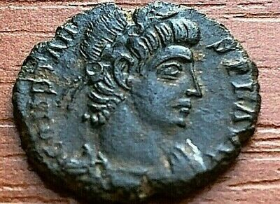 """Constans 337-350 AD AE Follis """"Two Victories"""" Ancient Roman Coin"""