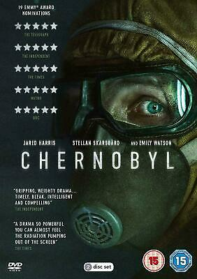 CHERNOBYL - New 2019 UK DVD - Stellan Skarsgård, Jared Harris - Great Gift Idea