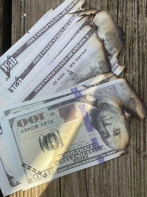 Fake Money Burnt