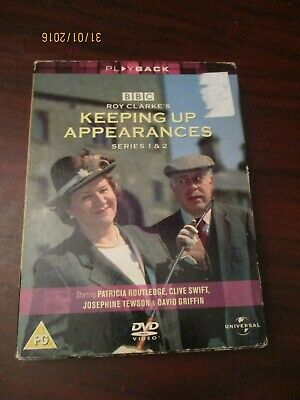 Keeping Up Appearances Series 1 & 2 Dvd Set