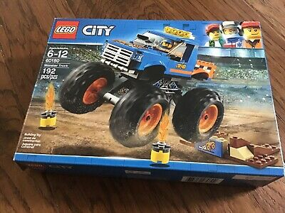 LEGO City Monster Truck 60180 Collector Owned Same Day Shipping