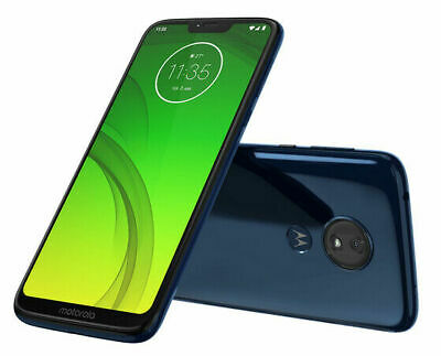 Motorola Moto G7 Power PAEB0006US 32GB Factory Unlocked CDMA + GSM - Marine Blue