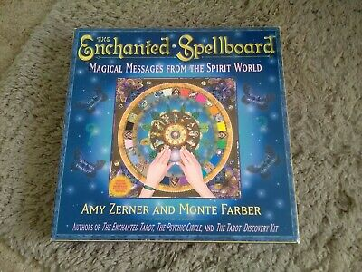 The Enchanted Spellboard : Magical Messages from the Spirit World by Monte Farb…