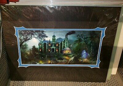 Disney Parks The Haunted Mansion 50th Bride Deluxe Print Joel Payne