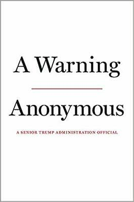 A Warning Hardcover by Anonymous November 19, 2019 Pre-order