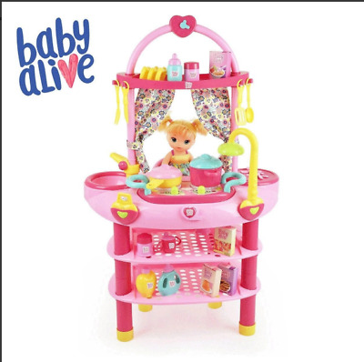 "NEW Baby Alive Doll 3 in 1 Cook 'n Care Play Set for 16"" Doll"