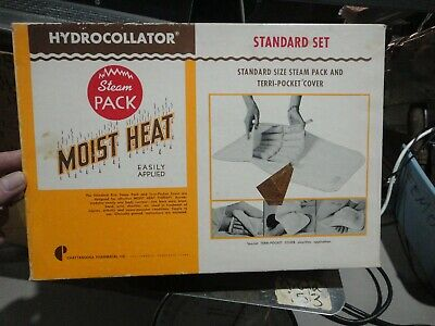 Hydrocollator moist heat steam pack, vintage used