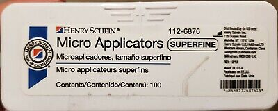 Henry Schein Micro Applicators  - Superfine