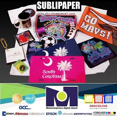 "100Sh 8.5""x11"" Sublimation Paper Iron On Heat Press Transfer Paper Print T-shirt"