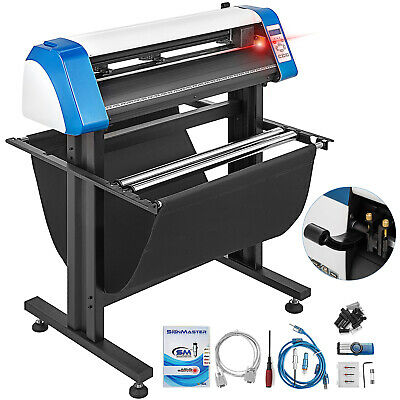 "28"" Vinyl Cutter Plotter Sign Cutting Machine Automatic Signmaster Make Stickers"