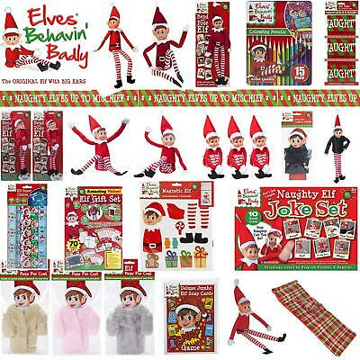 Elf Accessories Christmas Decorations Props Games On The Shelf Idea Kit Clothing