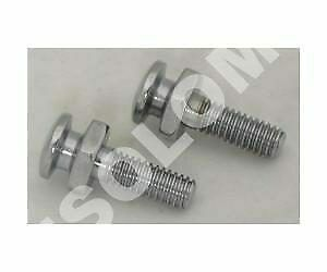 PERNO SUPPORTO SELLA CHROME SEAT BOLTS AND MOUNTING NUTS  Harley Davidson