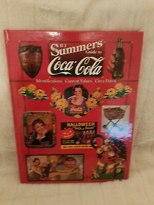 Coca Cola Hard Cover Book Bj Summers Guide 1997