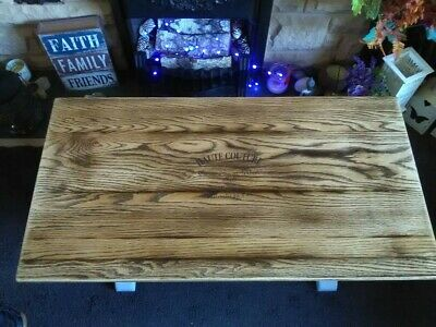 Upcycled Hand Painted wooden antique occasional/ coffee  table