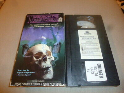 Tales From the Darkside 5 FIVE vintage VHS TAPE halloween HORROR George Romero