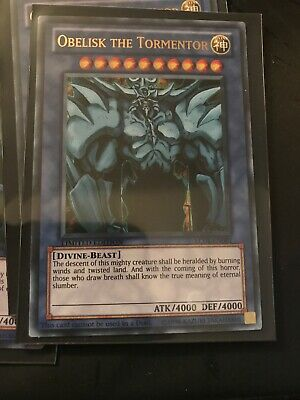 Limited Edition NM YuGiOh! LC01-EN001 Ultra Rare 1x Obelisk the Tormentor