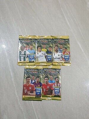 Panini Adrenalyn XL Fifa365 2018/2019 Trading Card Game Booster 45 Packets