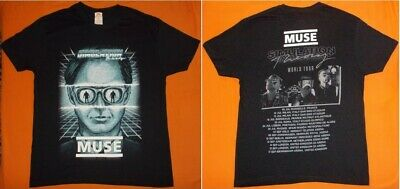 MUSE 'Simulation Theory'  2019 World Tour Super Live Maglietta T-Shirt MINT
