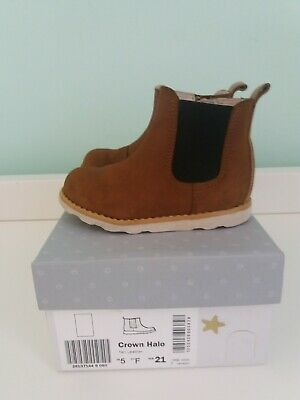Clarks Girls Boots Crown Halo 5F